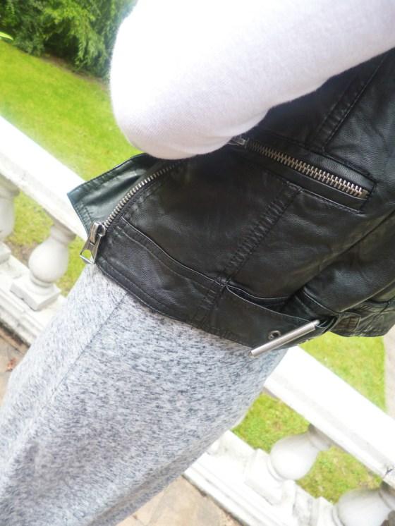 Waistjacket - Ark* Top - Topshop Skirt - H&M Dr Marten's - Bank